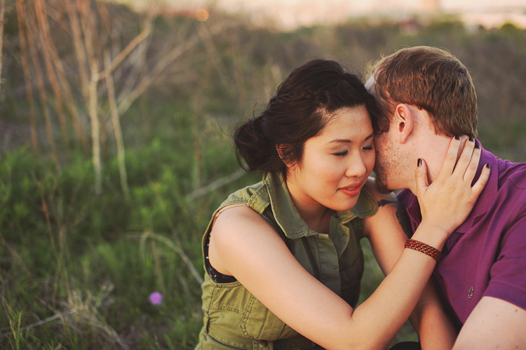 engagement pictures in high grass