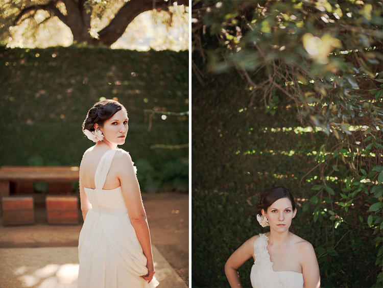 indie bridal portraits