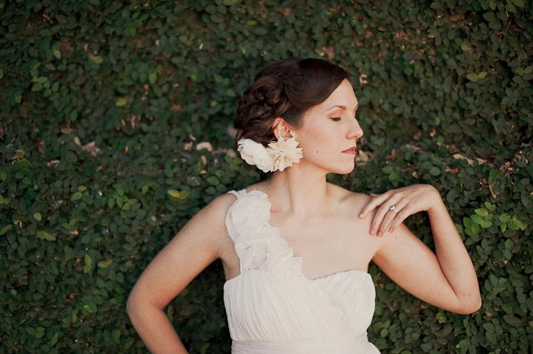 Shirin Askari dress on bride