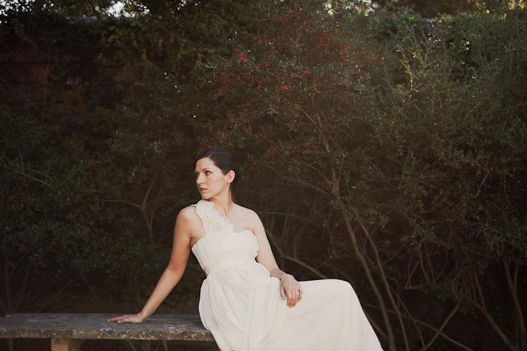 san jose hotel bridal portrait