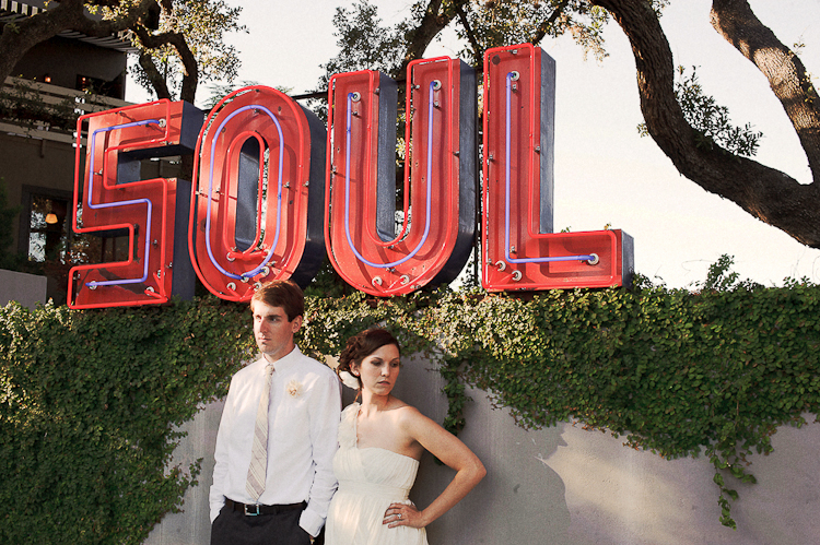 neon soul hotel saint cecelia wedding photos