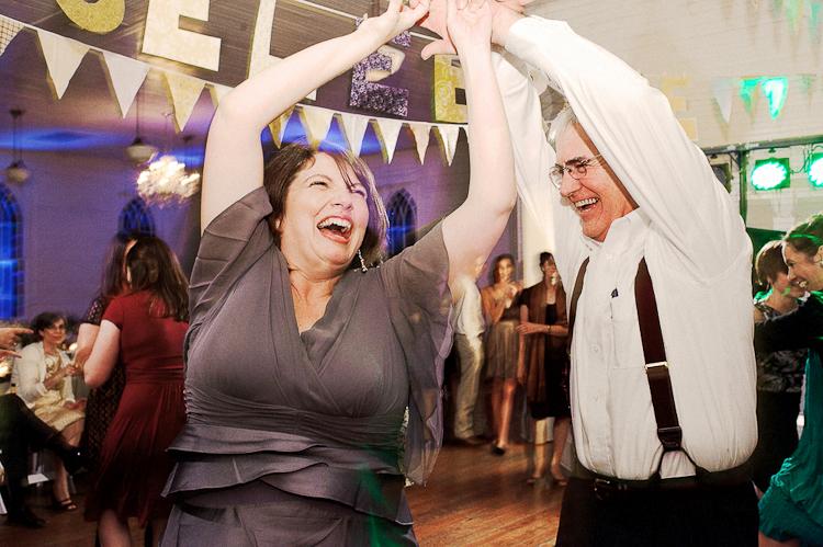 mercury hall reception dancing celebration