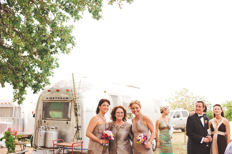 airstream trailer wedding photos