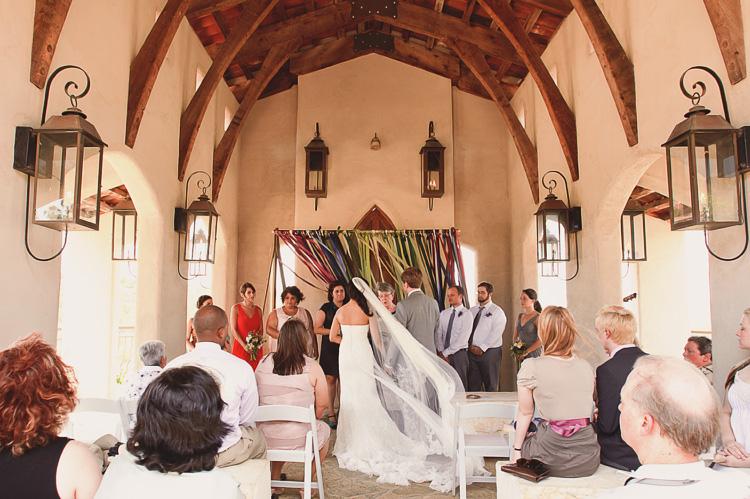 DIY wedding details ceremony backdrop