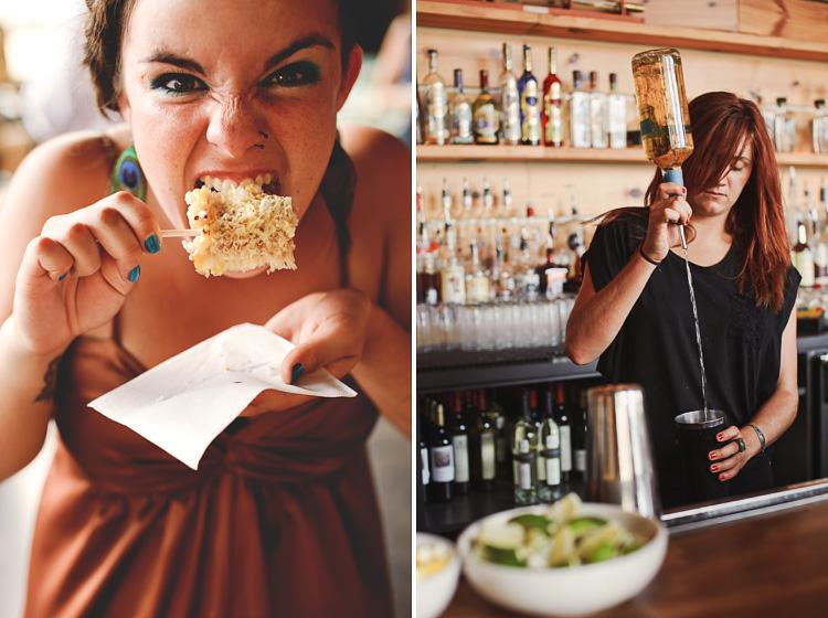 La condesa corn on the cob and bar