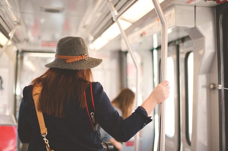 san francisco metro bus trolly