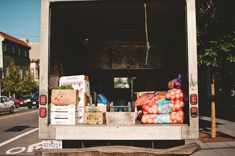fruit truck in san francisco