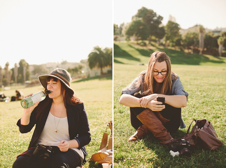 drinking on the lawn in san francisco