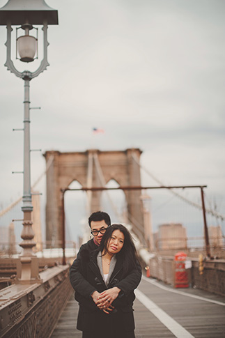 sunrise session brooklyn bridge