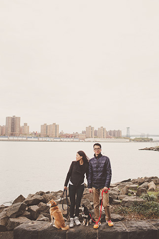new york harbor portrait session