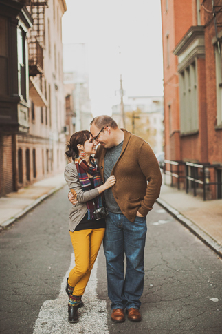 baltimore engagement photos by nessa k
