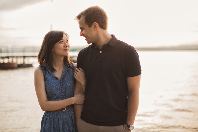 old town alexandria boat engagement photographer