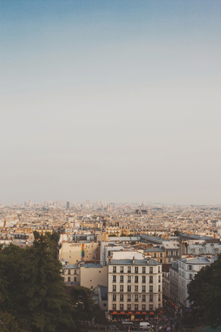 paris travel photography vista