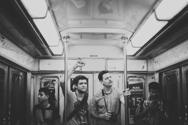 subway ride in paris france