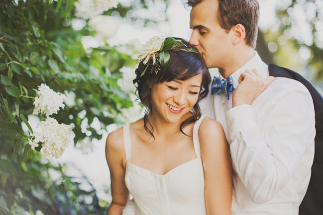 bridal floral head piece