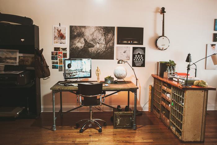 moon themed photography studio