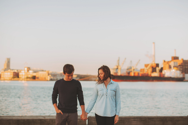 nautical engagement pictures