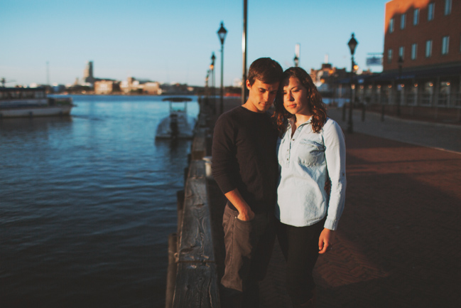 engagement photos in baltimore md