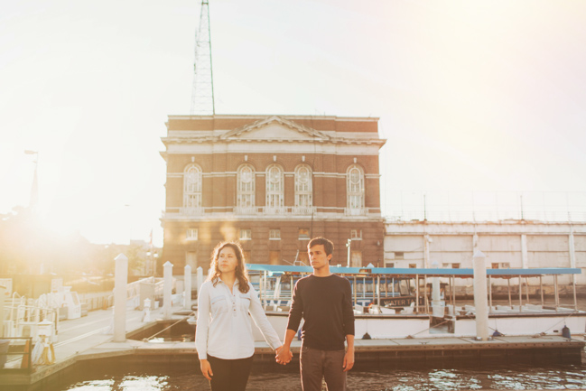baltimore engagement pictures nessa k