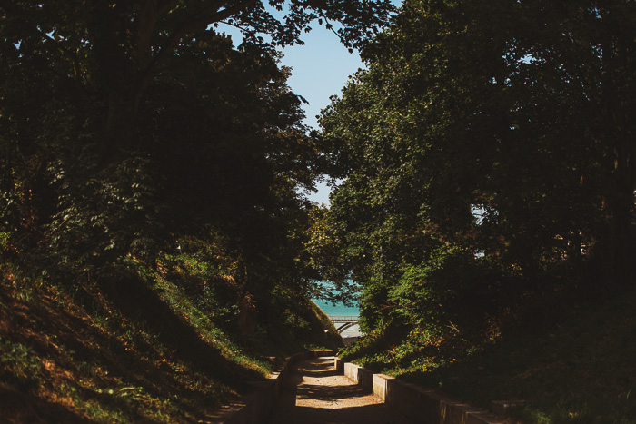path leading to ocean in france 24