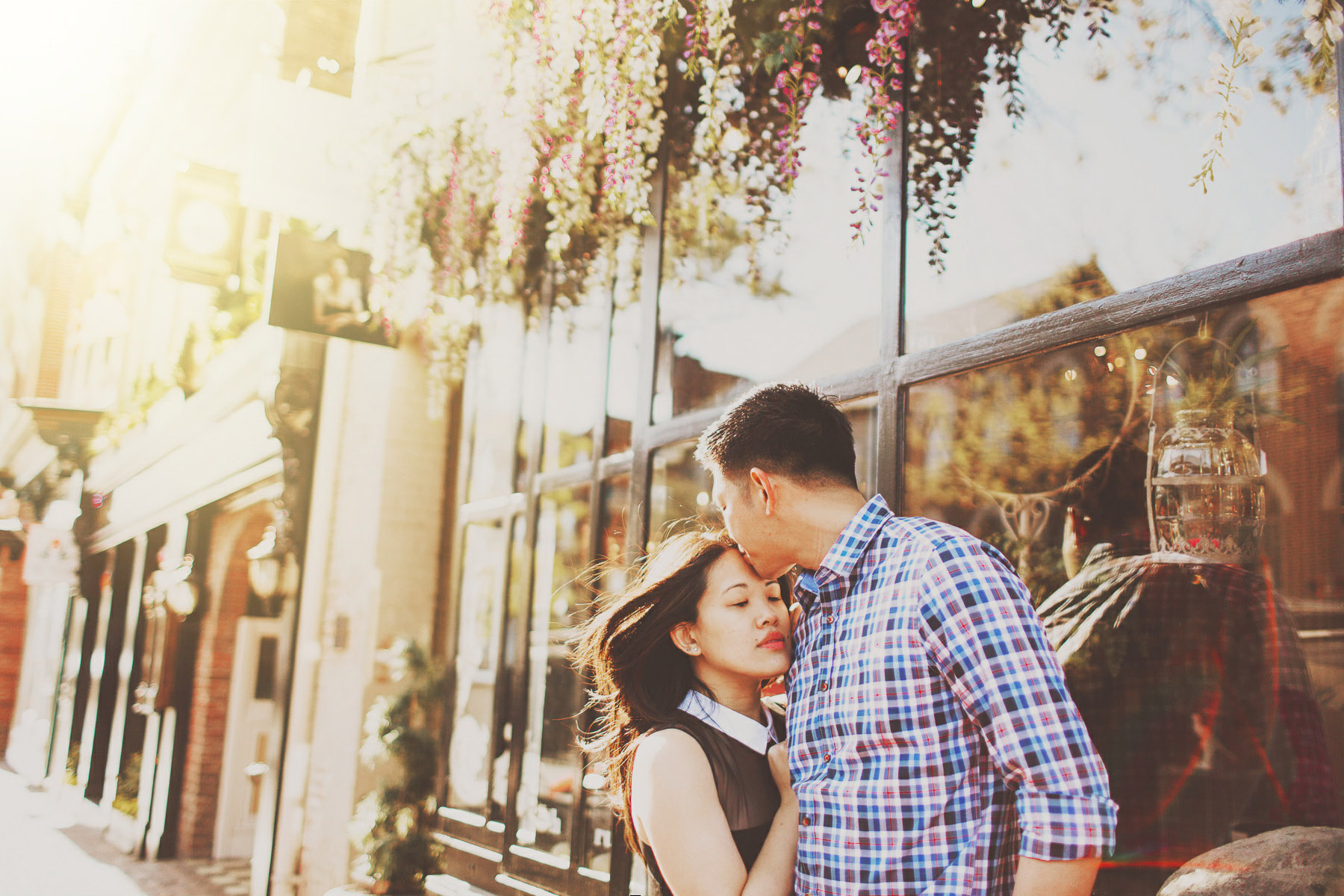 engagement pictures in old town alexandria va
