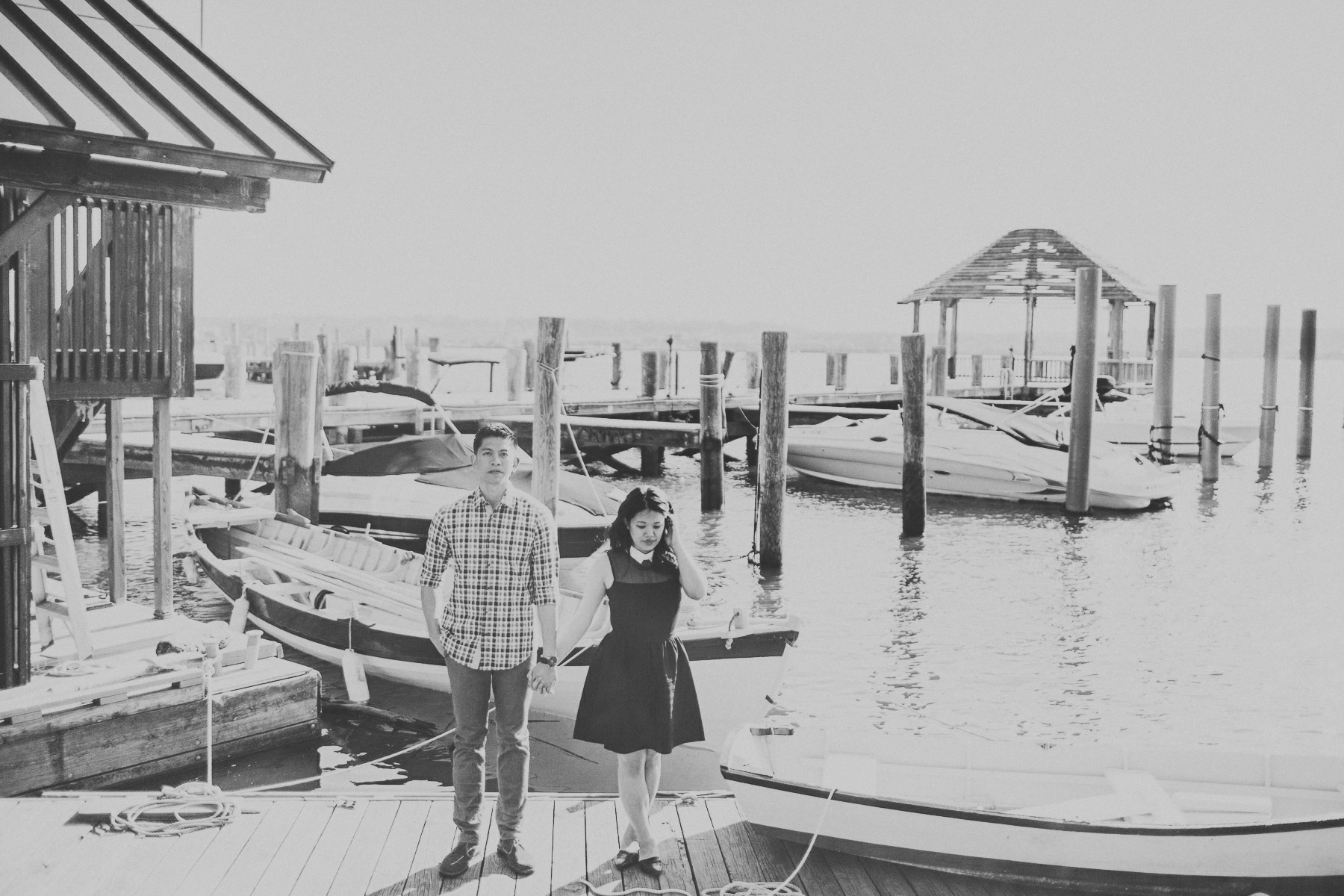 bayside engagement session dc