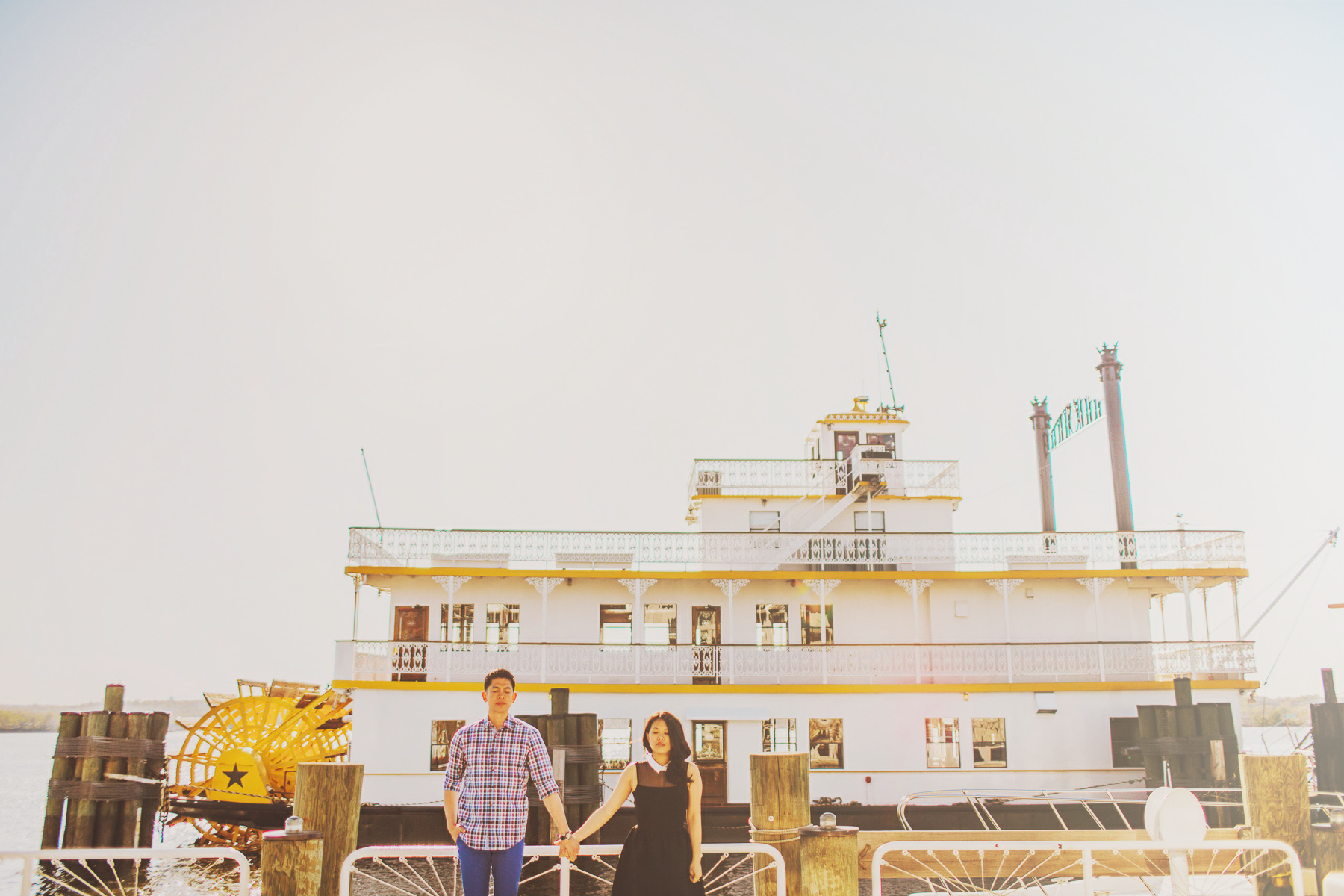 nautical themed engagement session dc