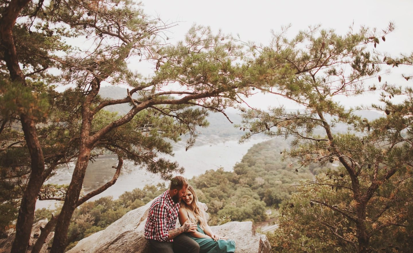 cliff engagement sesssion maryland