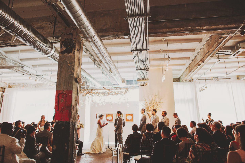 Longview Gallery Wedding Ceremony Washington Dc