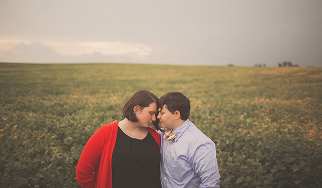 washington dc lesbian engagement session LGBT