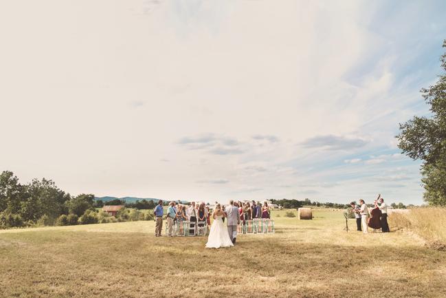 nessa k 14 beautiful farm wedding frederick md Farm Wedding in Frederick MD: Katy and Parkers Backyard