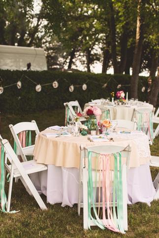 nessa k 32 DIY pastel wedding details Farm Wedding in Frederick MD: Katy and Parkers Backyard