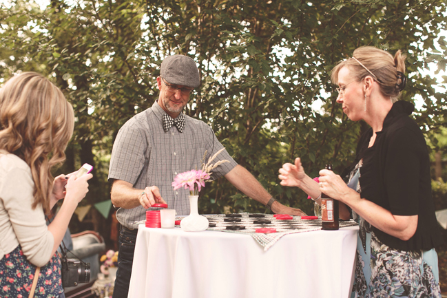 nessa k 41 checkers as a wedding game Farm Wedding in Frederick MD: Katy and Parkers Backyard