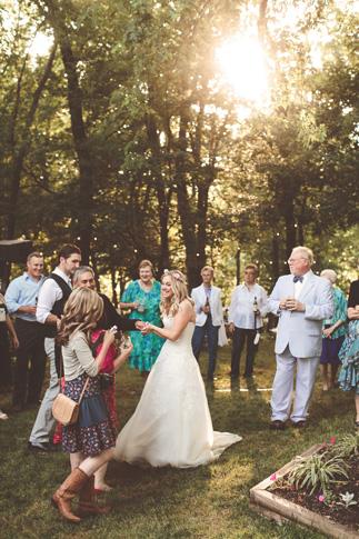 nessa k 44 backyard wedding reception maryland Farm Wedding in Frederick MD: Katy and Parkers Backyard