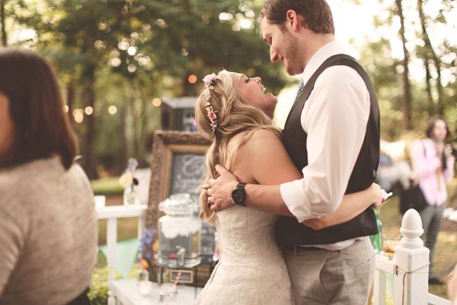 nessa k 46 backyard bbq wedding reception Farm Wedding in Frederick MD: Katy and Parkers Backyard