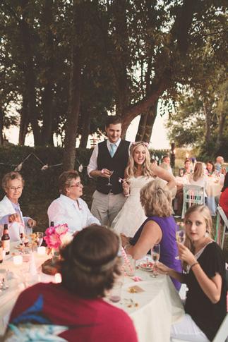 nessa k 52 farm wedding reception Farm Wedding in Frederick MD: Katy and Parkers Backyard