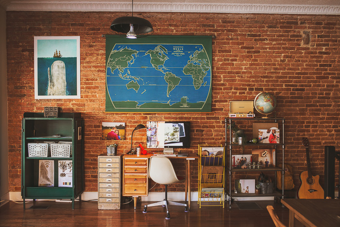 baltimore photography studio blue and green wall map of world ...