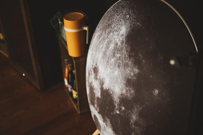 moon speaker cover