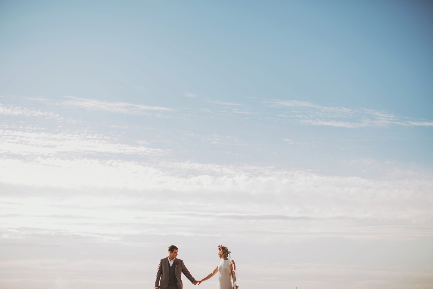beautiful beach wedding in maryland