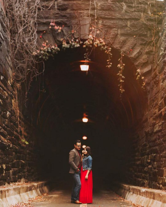 alexandria engagement session