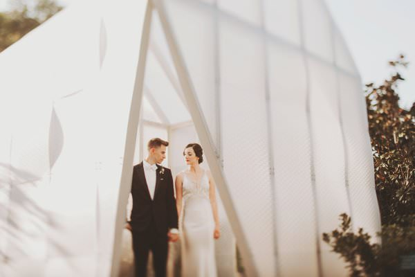 Ryan & Michelle | A 1920s Inspired Garden Party in the Moonlight