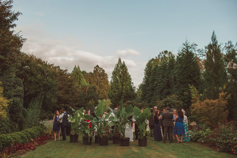 Washington dc garden wedding