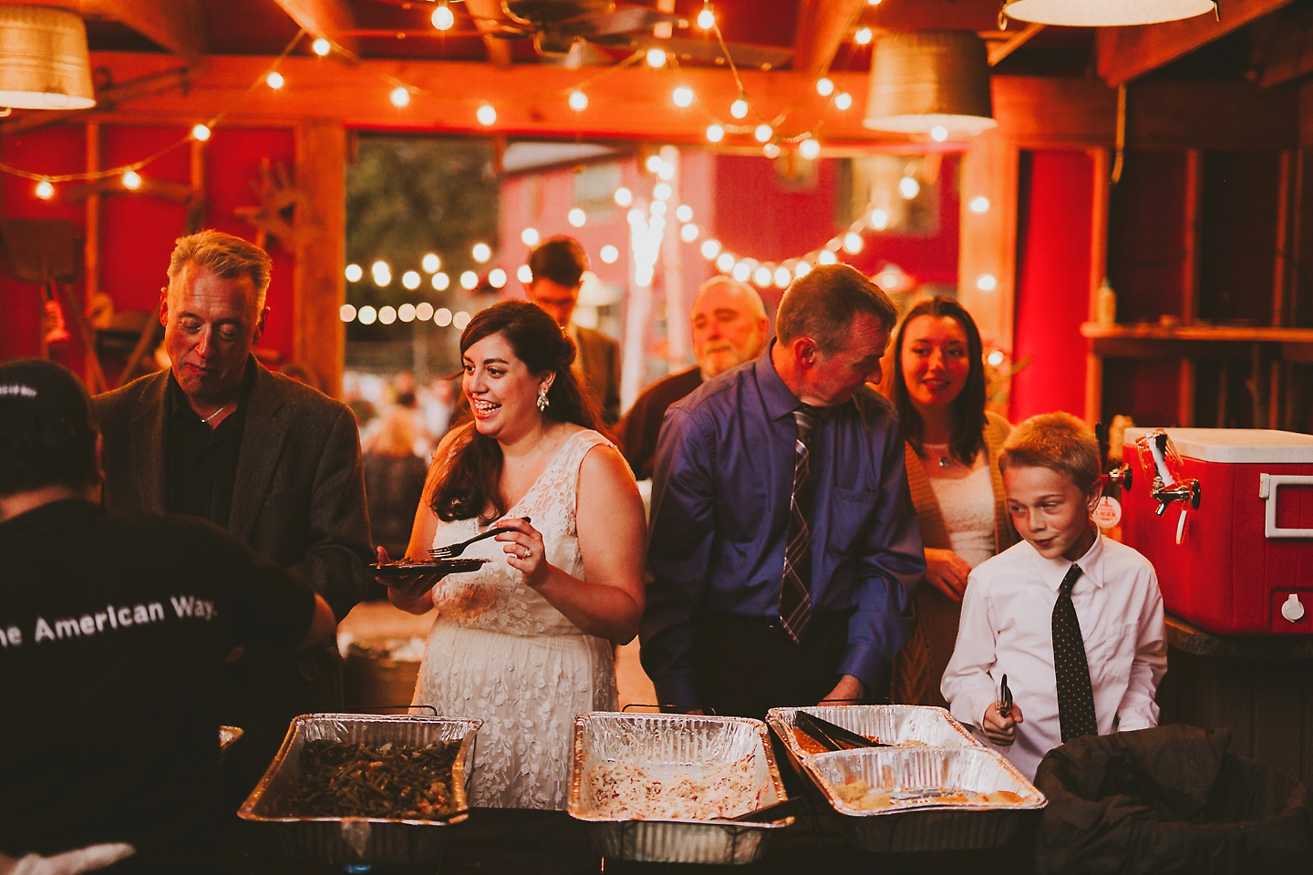 Hemlock Farm Wedding With A Red Barn And Sparklers