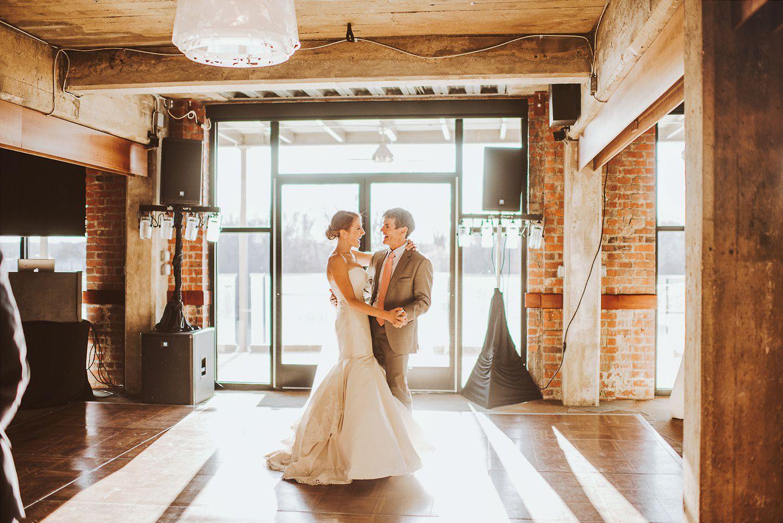 The Boathouse at Rocketts Landing wedding reception