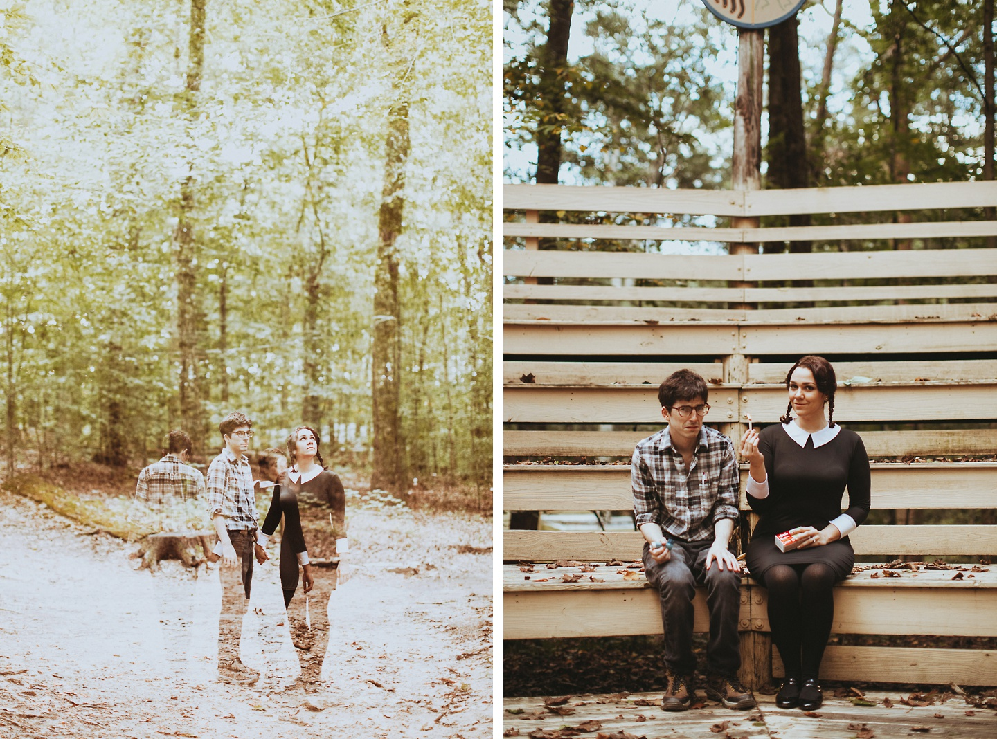 addams family values engagement pictures