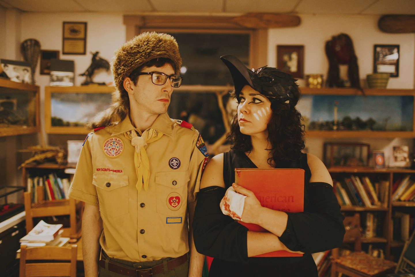 engagement pictures wes anderson themed