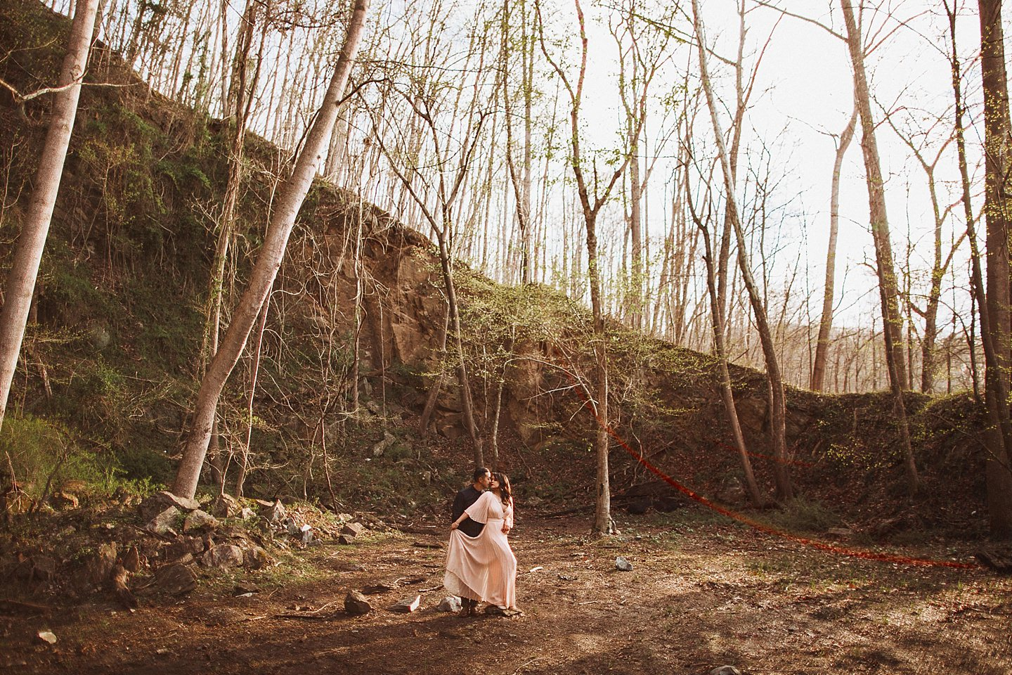 wes anderson inspired wedding photography dc