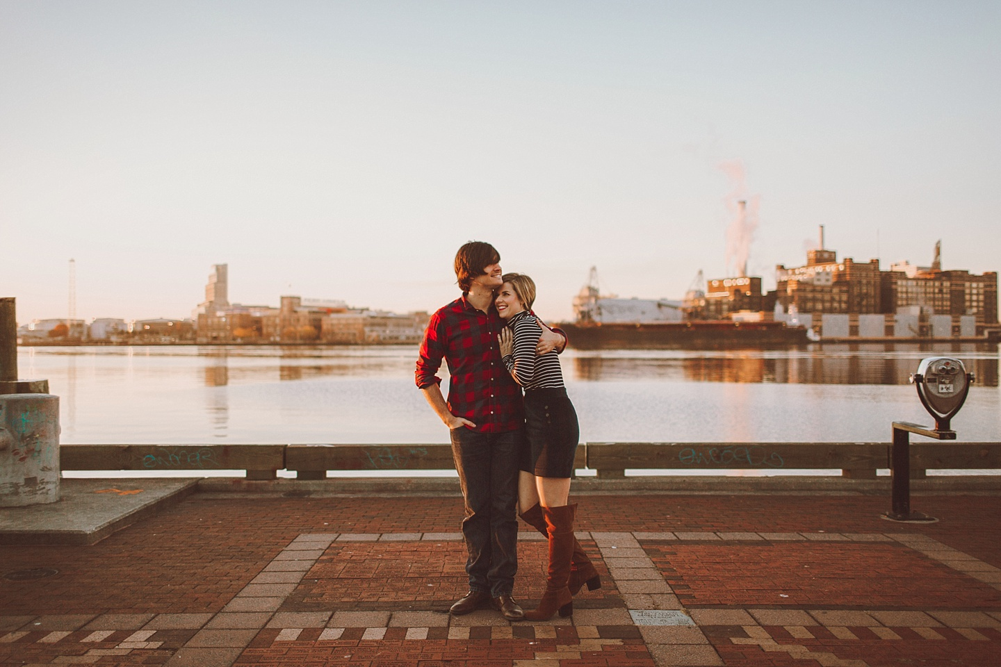 Fells Point Sunrise Session in Baltimore