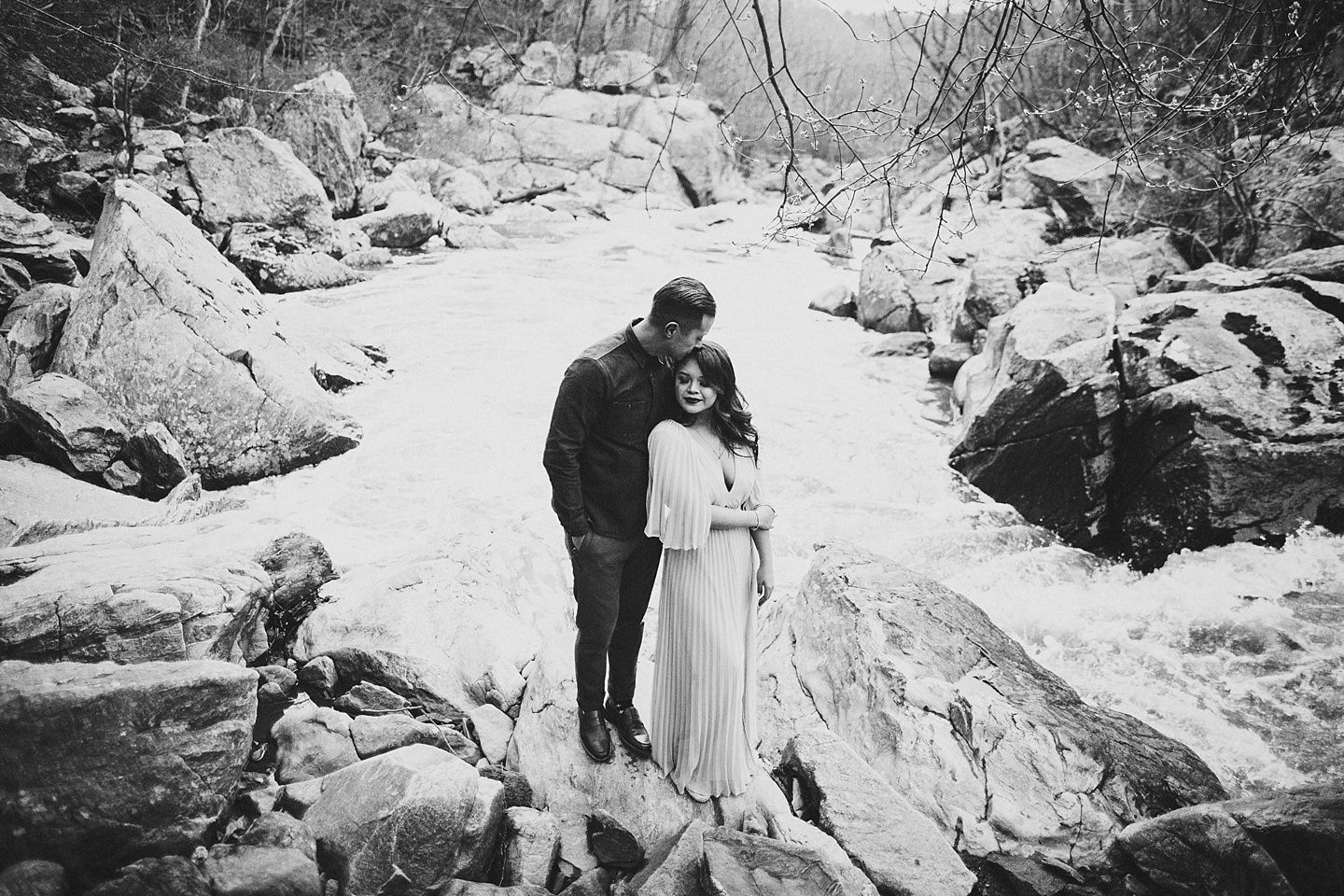 great falls virginia engagement pictures