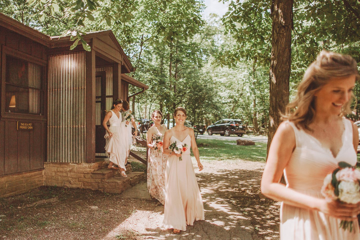 camp wedding at Cacapon Resort State Park